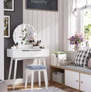 coiffeuse conforama blanche maison