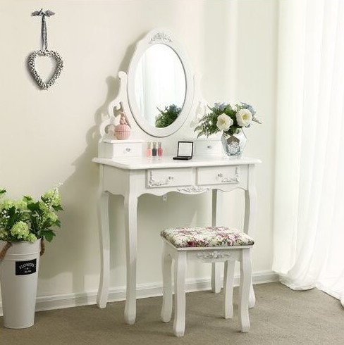coiffeuse-blanche-Songmics-RDT04W-amenagee