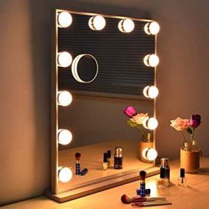 miroir hollywood pour coiffeuse