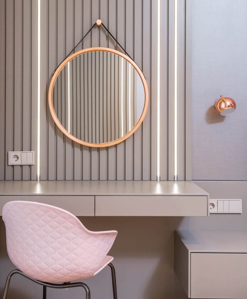 deco coiffeuse maquillage