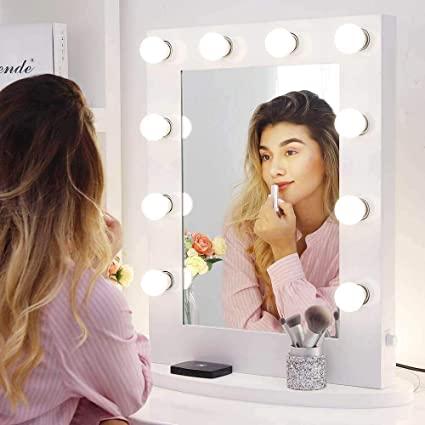 miroir coiffeuse avec lumiere